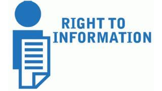 सूचना का अधिकार कानून