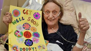 Sir Ken Dodd in hospital