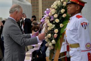 Prince Charles pays tribute to poet Jose Marti
