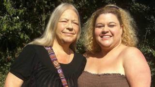 Trish Vickers and her daughter Heidi