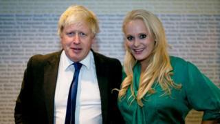 Boris Johnson with Jennifer Arcuri