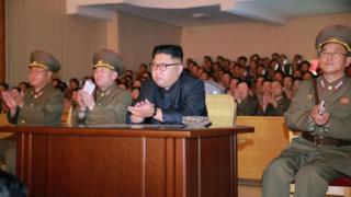 زعيم كوريا الشمالية كيم جونغ-أون