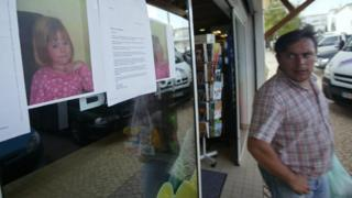 in_pictures Photographs of Madeleine McCann are pasted onto a shop front on 4 May 2007 in the area of the Ocean Club apartment hotel in Praia da Luz in Portugal