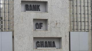 Les bureaux de la Banque du Ghana à Accra