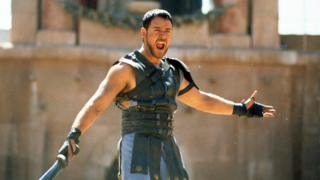 Russell Crowe stars in the 2000 Ridley Scott movie, Gladiator