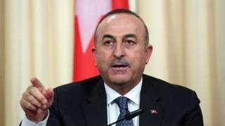 Türkiyənin xarici işlər naziri Mevlut Çavuşoğlu