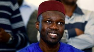 Ousmane Sonko est le plus jeune des cinq candidats à l'élection présidentielle du 24 février 2019.