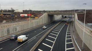 Raith Interchange underpass