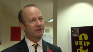 Henry Bolton was attending a meeting of UKIP members in Great Yarmouth