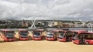 New translink buses