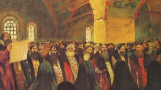 """""""Земский собор"""" (художник Сергей Иванов, 1908 год)"""