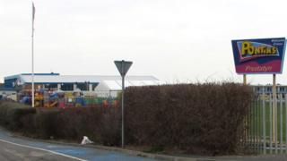 Entrance to Pontins Prestatyn