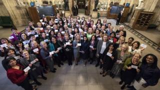 Women MPs in 2017