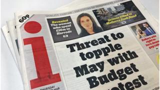 "The ""i"" newspaper"