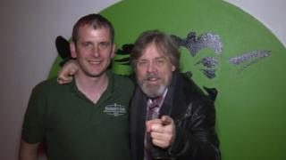 Mark Hamill at Farren's Bar