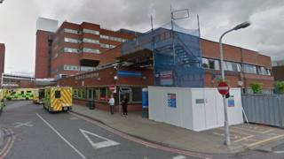 St George's hospital, Tooting, Accident and Emergency department