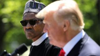 Muhammadu Buhari iyo Donald Trump