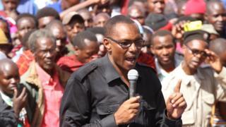 Aliyekuwa mbunge wa Monduli, Julius Kalanga