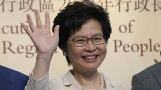 林郑月娥在无惊无险,无意外,无悬念中当选香港女特首。