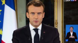 Macron, Sarı Yelekliler hareketine seslendi