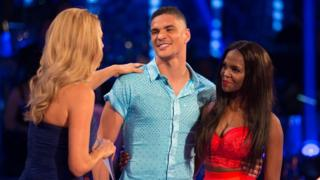 Anthony Ogogo and Oti Mabuse