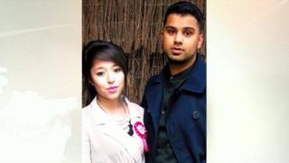 Shana Sutaria and Shabhaz Bhim