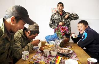 Жители республики Алтай