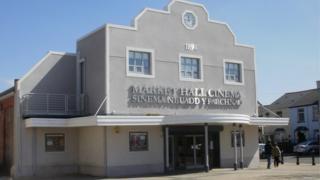 Brynmawr Market Hall cinema