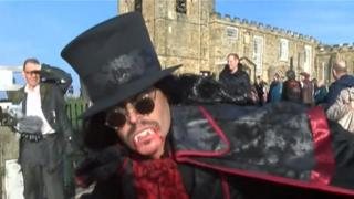 Dracula - Whitby Goth Weekend 2016