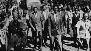 Jean-Baptiste Ndahindurwa ne sarkin karshe na Rwanda kafin a haramta sarauta a kasar