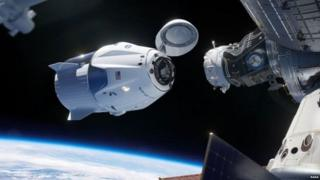Dragon capsule SpaceX