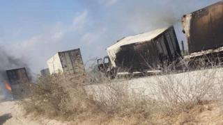 Le convoi du contingent burundais attaqué entre Mogadiscio et Jowhar par le groupe al shabaab.