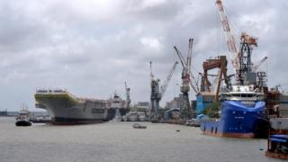 कोचिनमा जहाजहरू