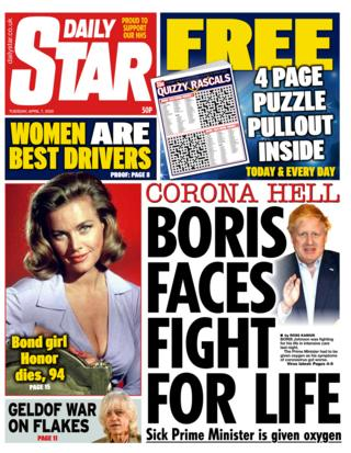 Daily Star 7 April 2020