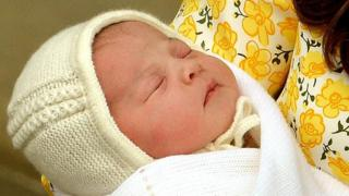 Princess Charlotte newborn