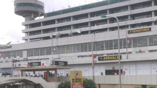 Arrival level of di Murtala Muhammed International Airport for Lagos