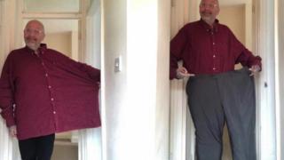 Jason perdió 89 kilogramos en dos años.