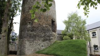 Discovery of tower at a Derry school 'rewrites history'