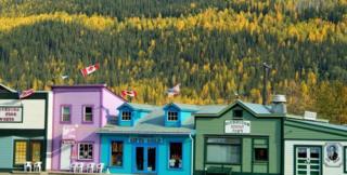डॉसन सिटी, कनाडा