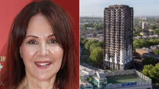 Arlene Phillips and Grenfell Tower