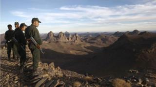 قوات جزائرية على الحدود الجنوبية في ولاية تمنراست