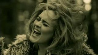 Adele in the video for Hello