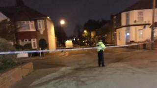 The first victim was stabbed in Aberdeen Road on Saturday evening