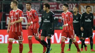 Ligue des champions : Bayern Munich-PSG (3-1)