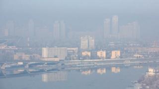 Київ у тумані