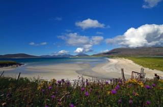 Luskentyre beach in Harris