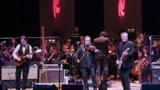 Horslips joined the Ulster Orchestra for a live broadcast from the Waterfront Hall in Belfast in 2011
