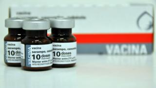 Doses de vacina contra sarampo