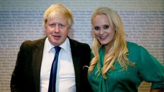 Ông Boris Johnson với doanh nhân Jennifer Arcuri