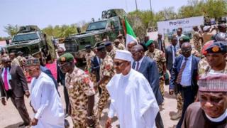 Wannan dai ba shi ne karo na farko da Shugaba Muhammadu Buhari ke ziyarta jihar ta Borno ba